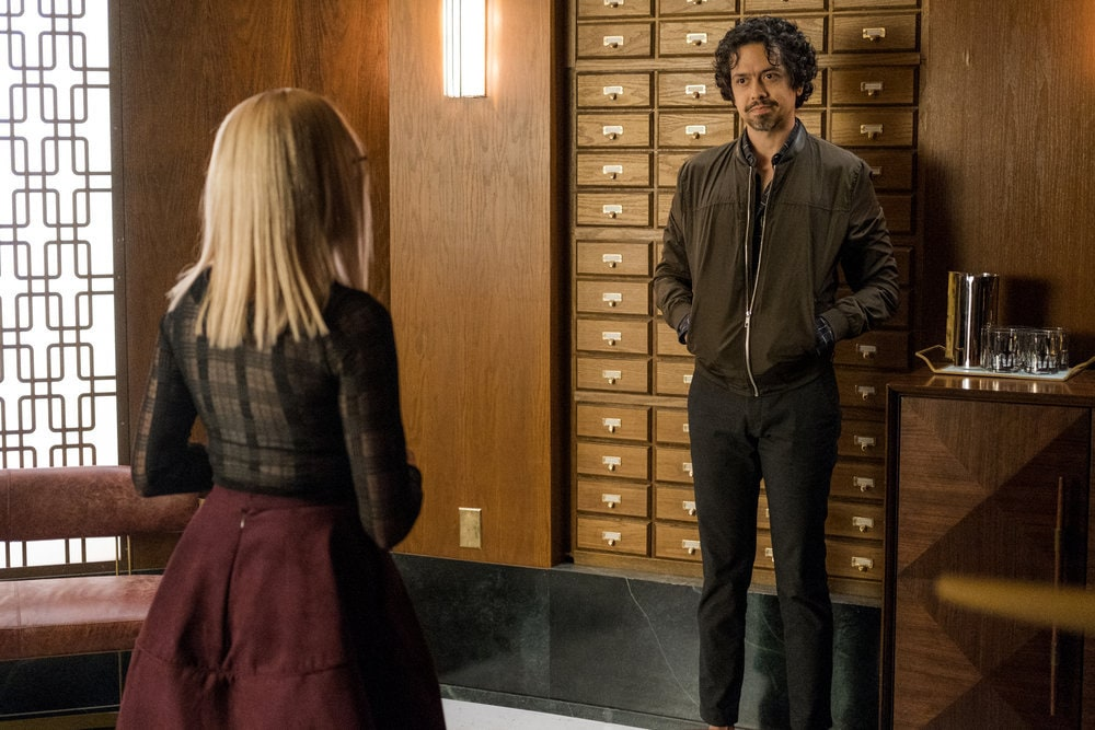 "THE MAGICIANS -- ""Cello Squirrel Daffodil"" Episode 509 -- Pictured: Geoffrey Arend as George -- (Photo by: James Dittinger/SYFY) NUP_188466_0280.JPG Wednesday, March 4 on SYFY (10-11 p.m. ET)"