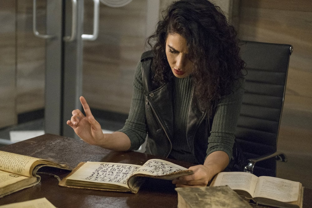 "THE MAGICIANS -- ""Cello Squirrel Daffodil"" Episode 509 -- Pictured: Jade Tailor as Kady Orloff-Diaz -- (Photo by: James Dittinger/SYFY) NUP_188466_0028.JPG Wednesday, March 4 on SYFY (10-11 p.m. ET)"