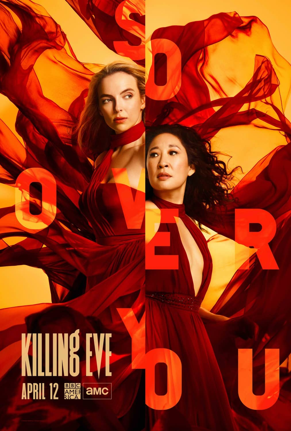 Killing Eve Season 3 Poster