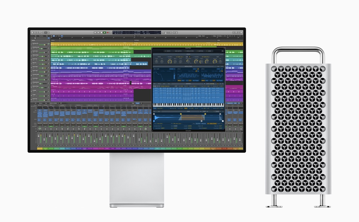 apple logic sampler pro display