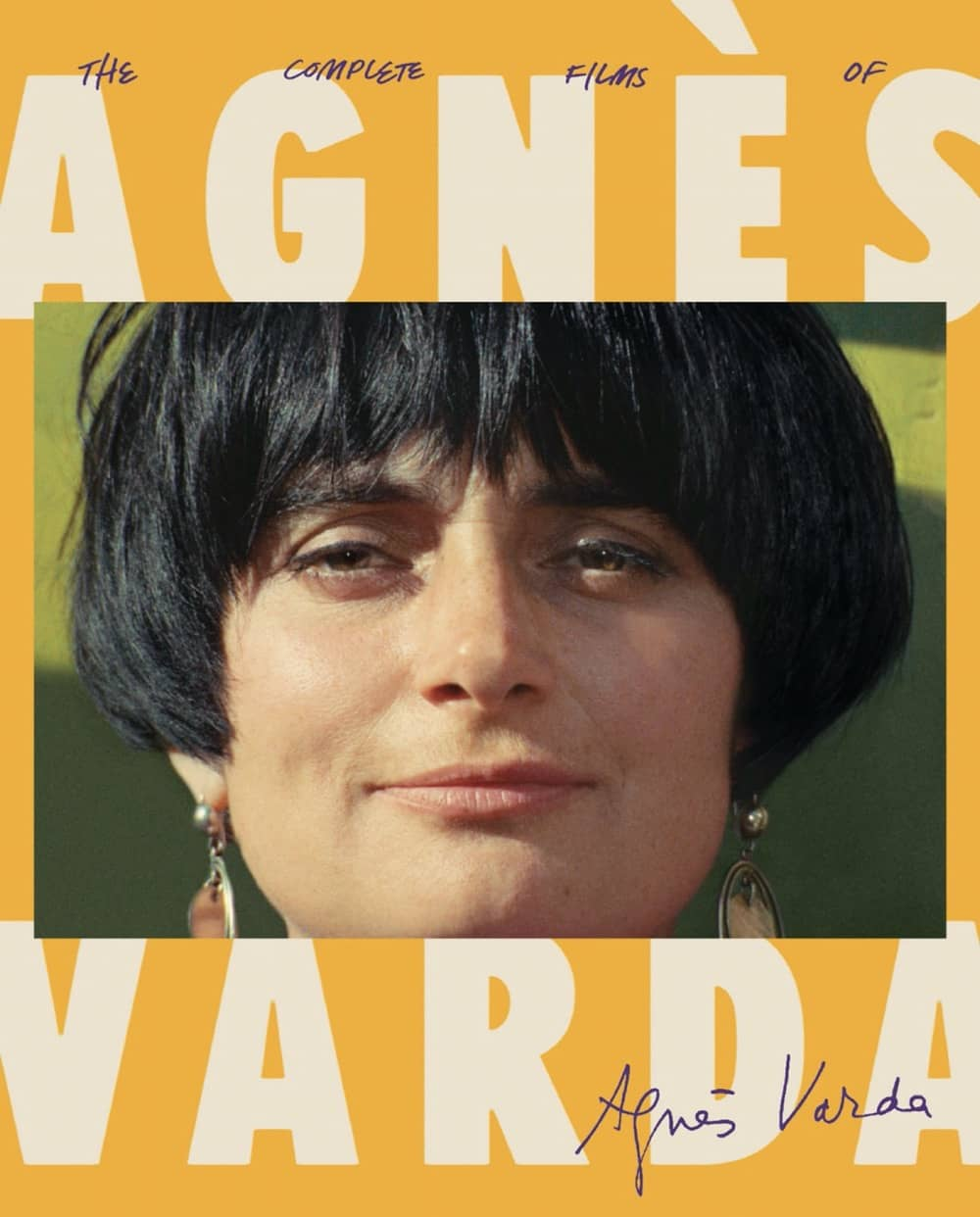The Complete Films of Agnès Varda Bluray Cover The Criterion Collection