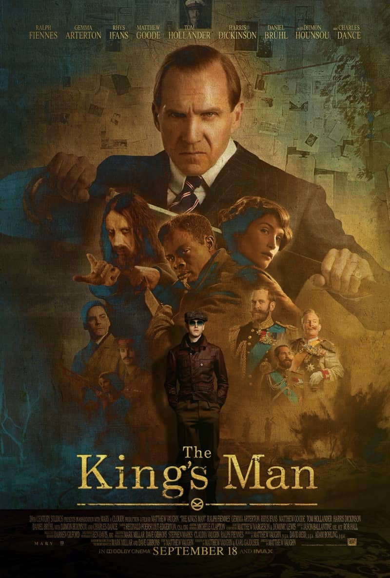 The Kings Man Movie Poster