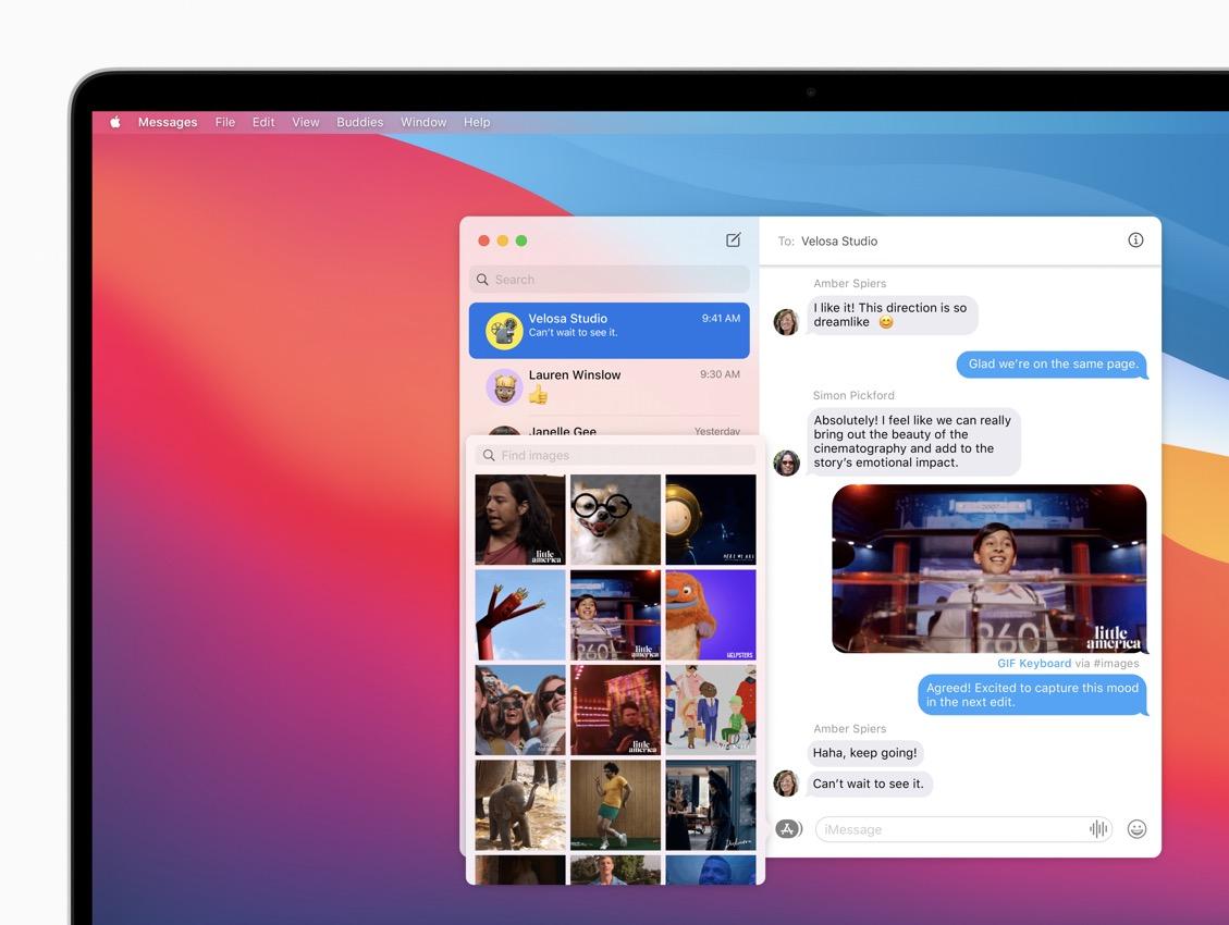 apple macos bigsur messages imagessearch 06222020