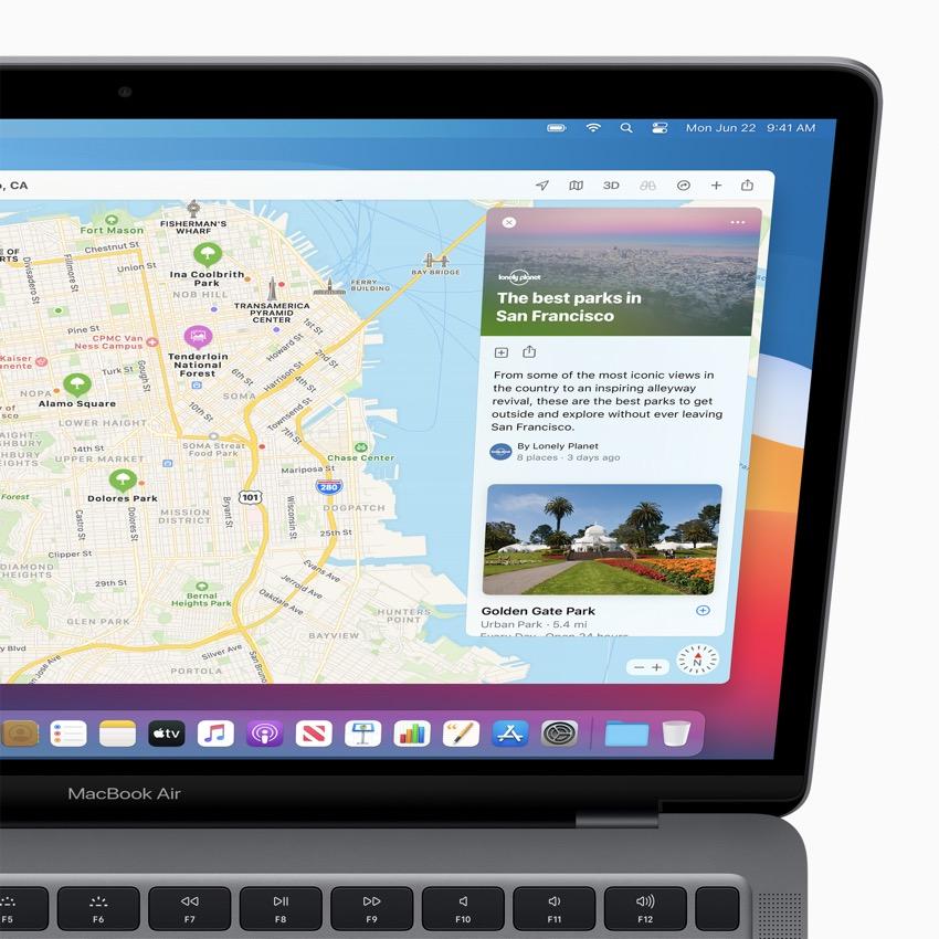 apple macos bigsur maps curatedguides 06222020