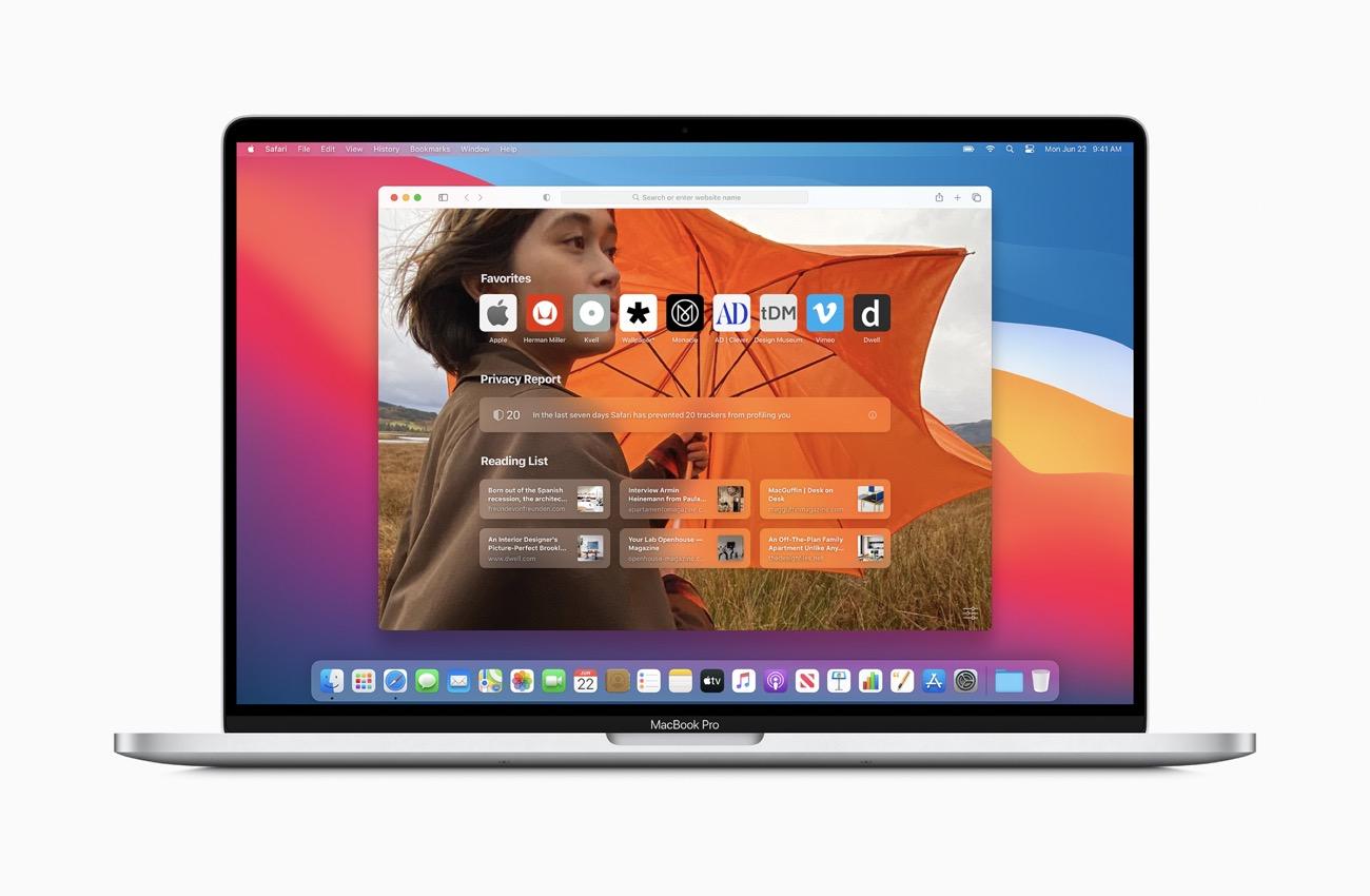 apple macos bigsur customizedsafari startpage 06222020