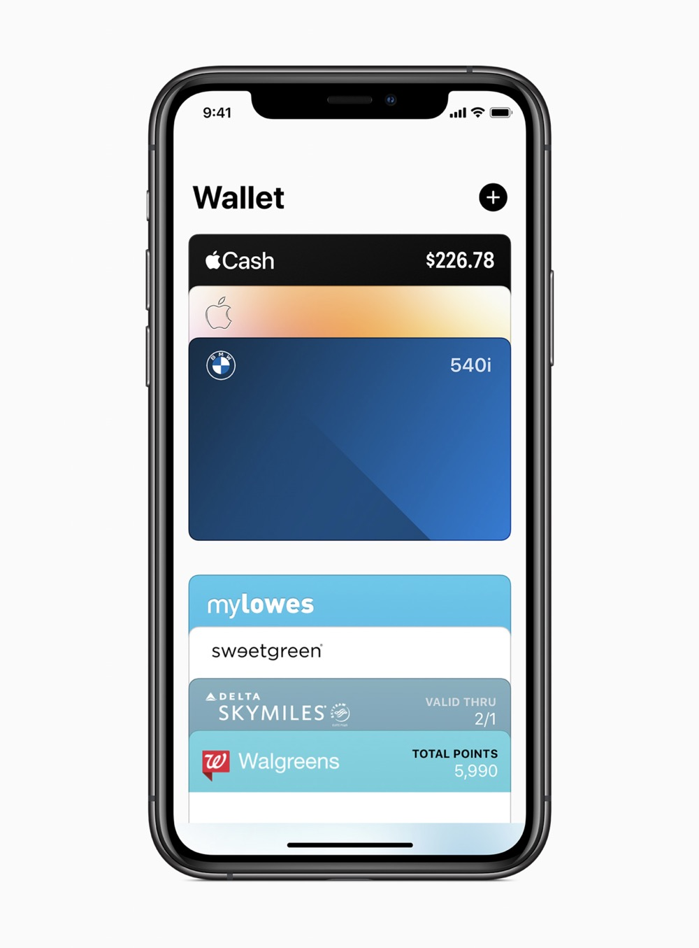 Apple ios14 wallet screen 06222020