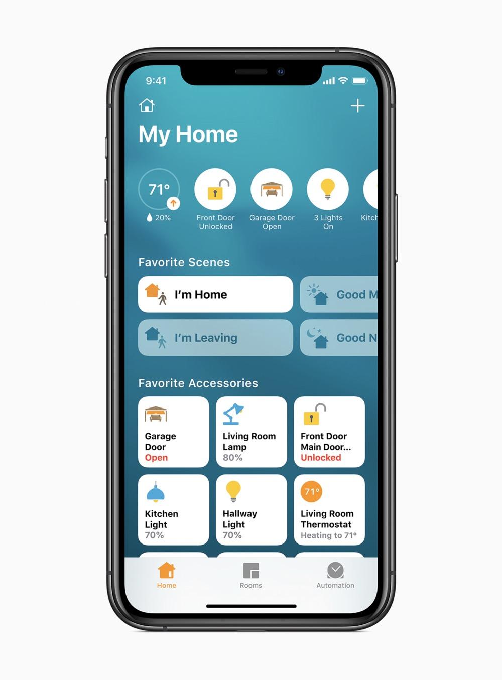 Apple ios14 my home app screen 06222020