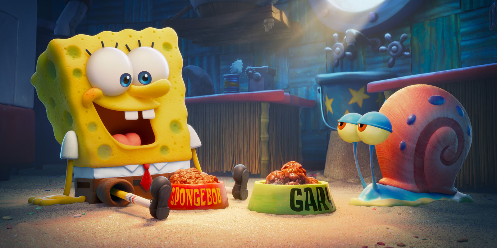 The SpongeBob Movie Sponge On The Run Nickelodeon Movies Paramount Animation Pictures Nick SBSP 1