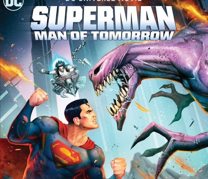 Superman Man Of Tomorrow 4K Cover