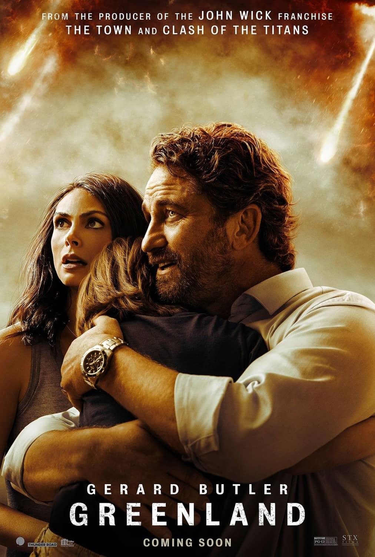 Greenland Movie Poster Gerard Butler Morena Baccarin