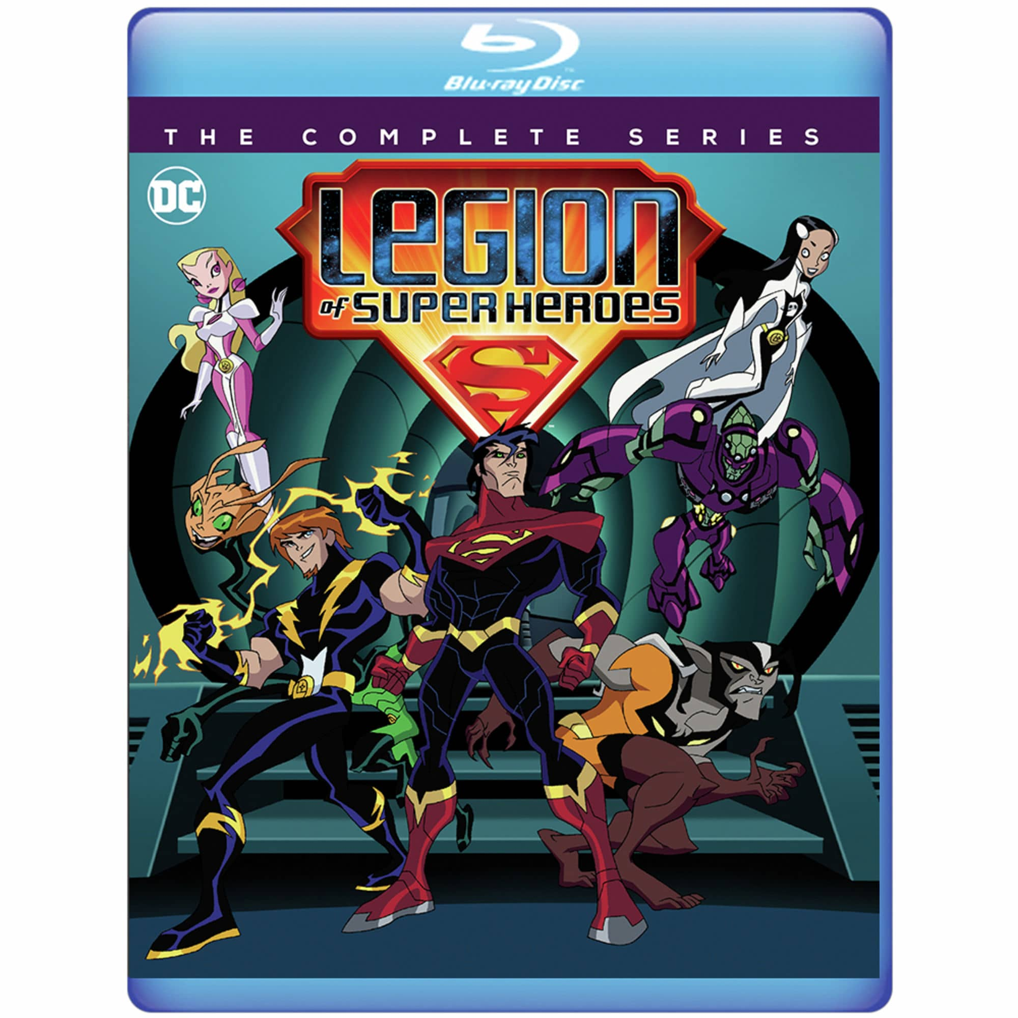 LEGION OF SUPERHEROES Bluray