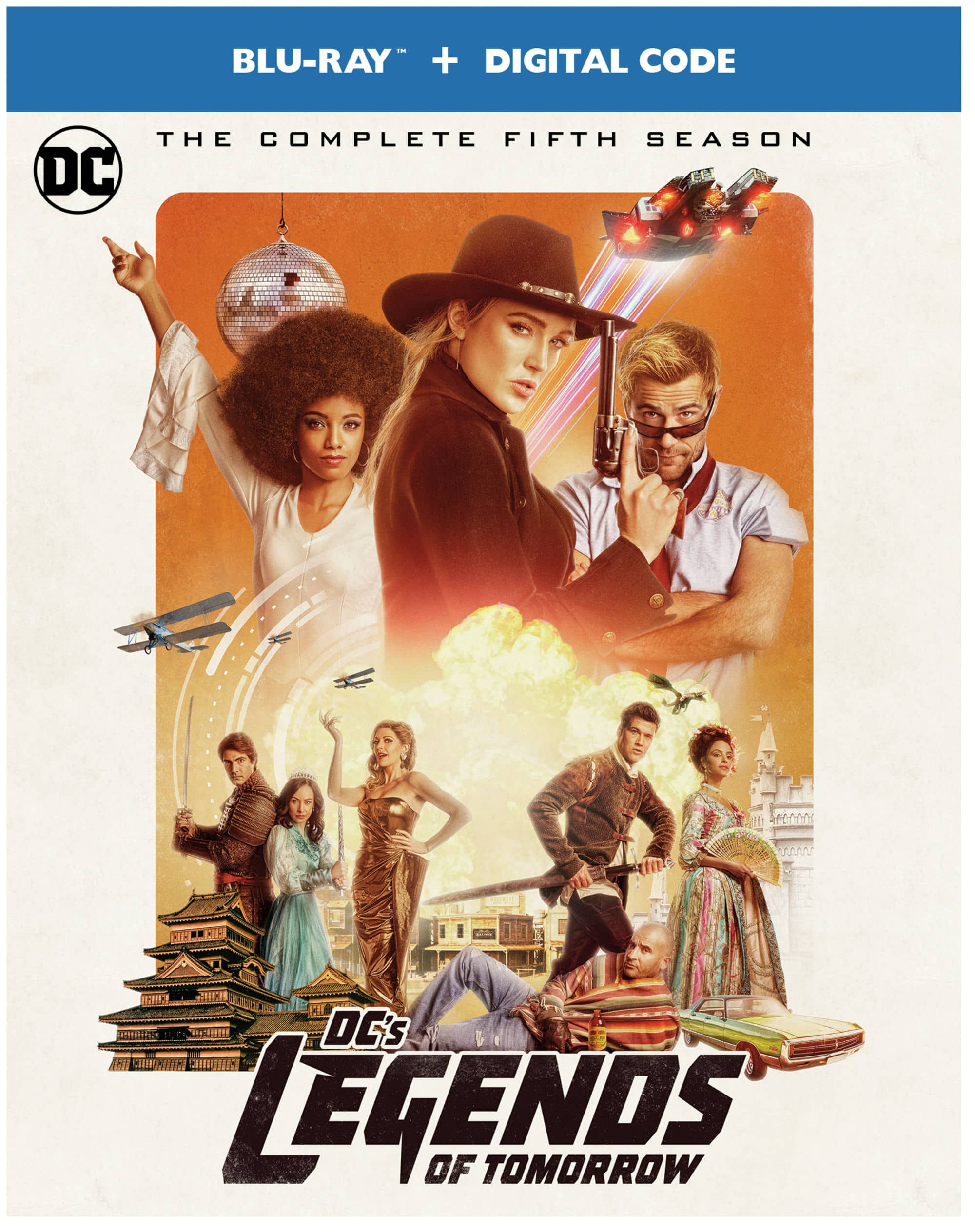 DCs Legends of Tomorrow S5 BD