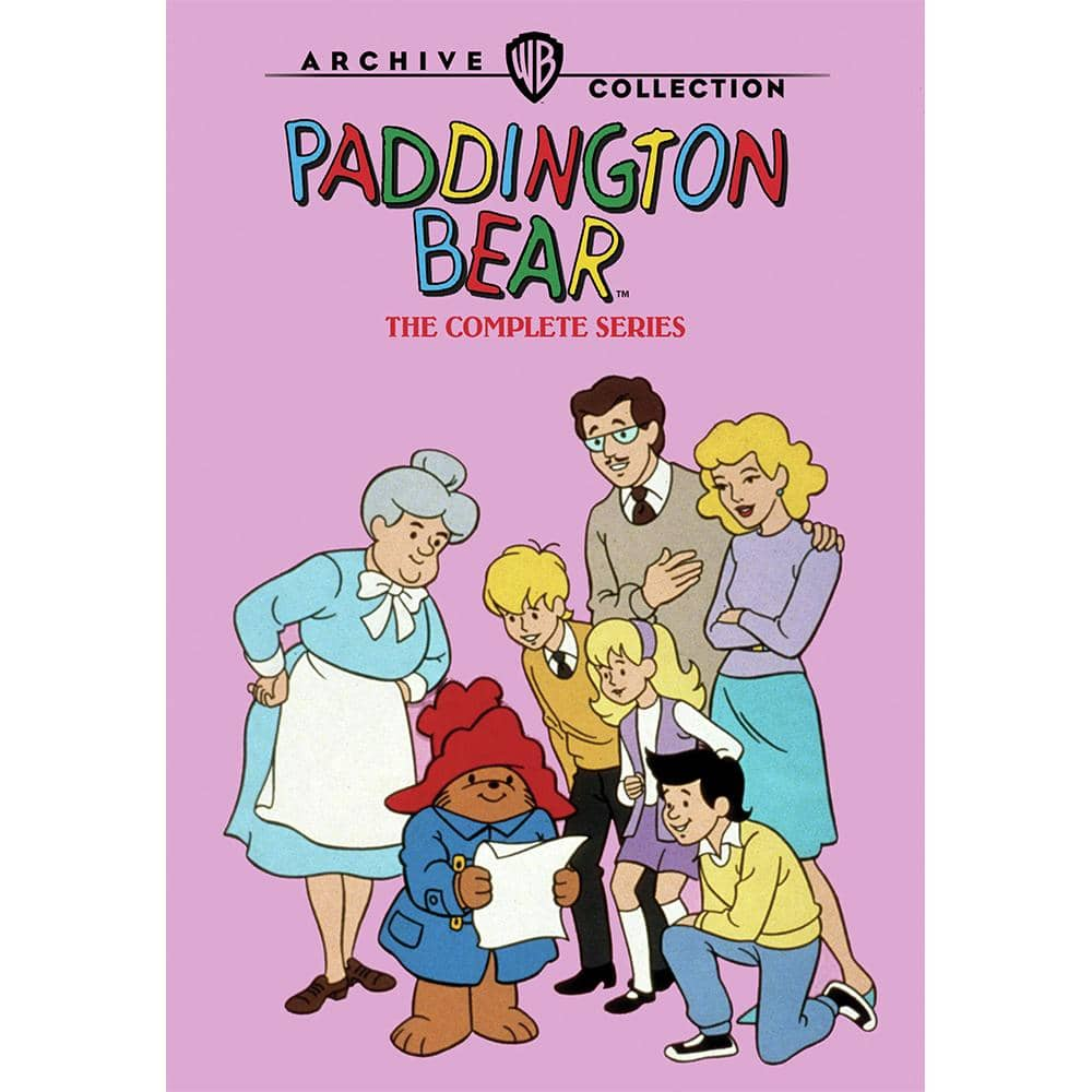 Paddington Bear The Complete Series DVD