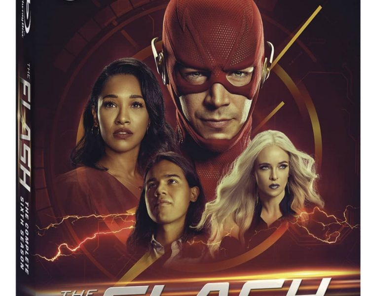 The Flash Season 6 Bluray Box Cover