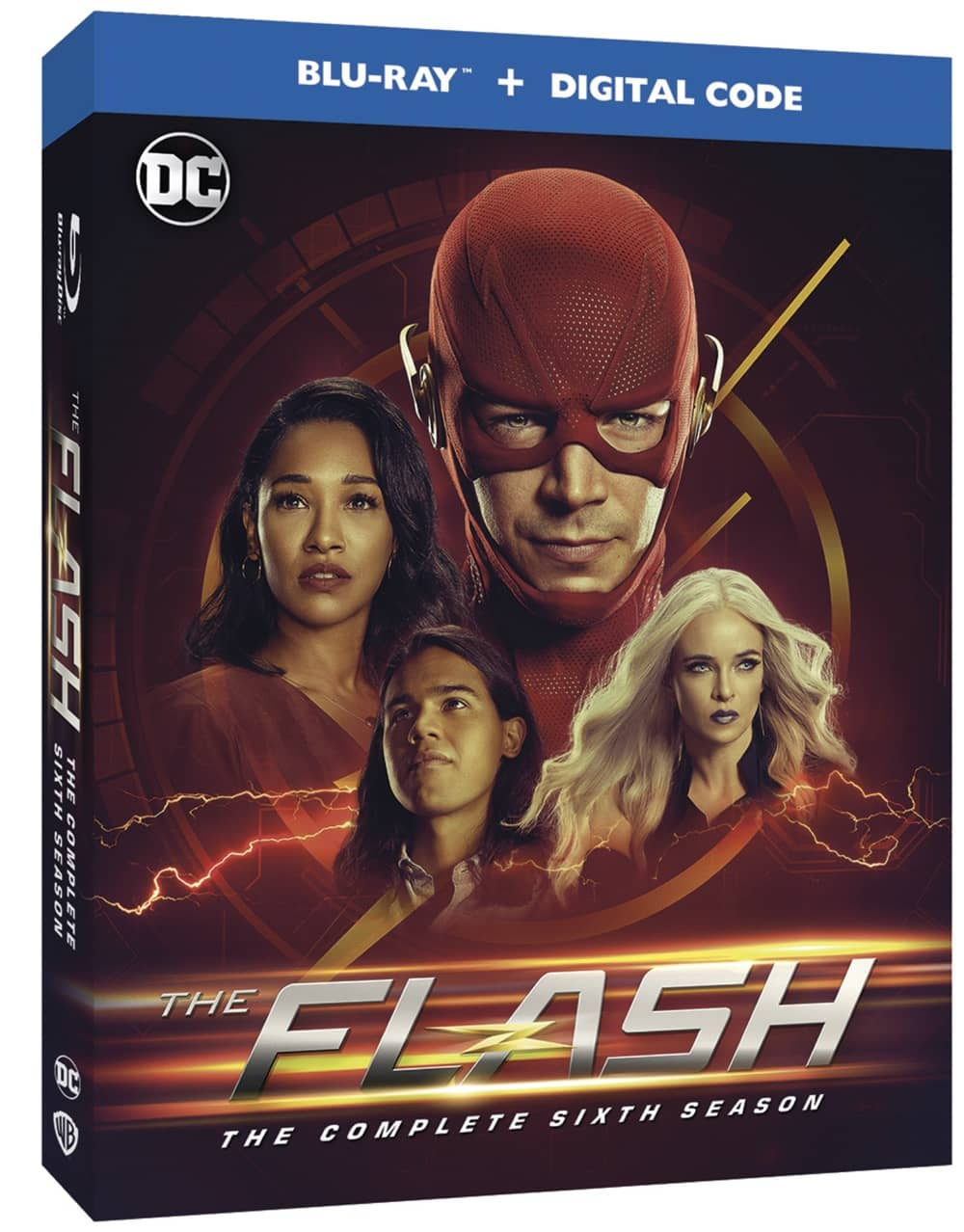 The Flash Season 6 Bluray Box Cover