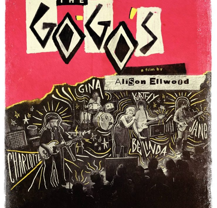 Key Art for THE GO-GO'S. Photo credit: Courtesy of SHOWTIME.