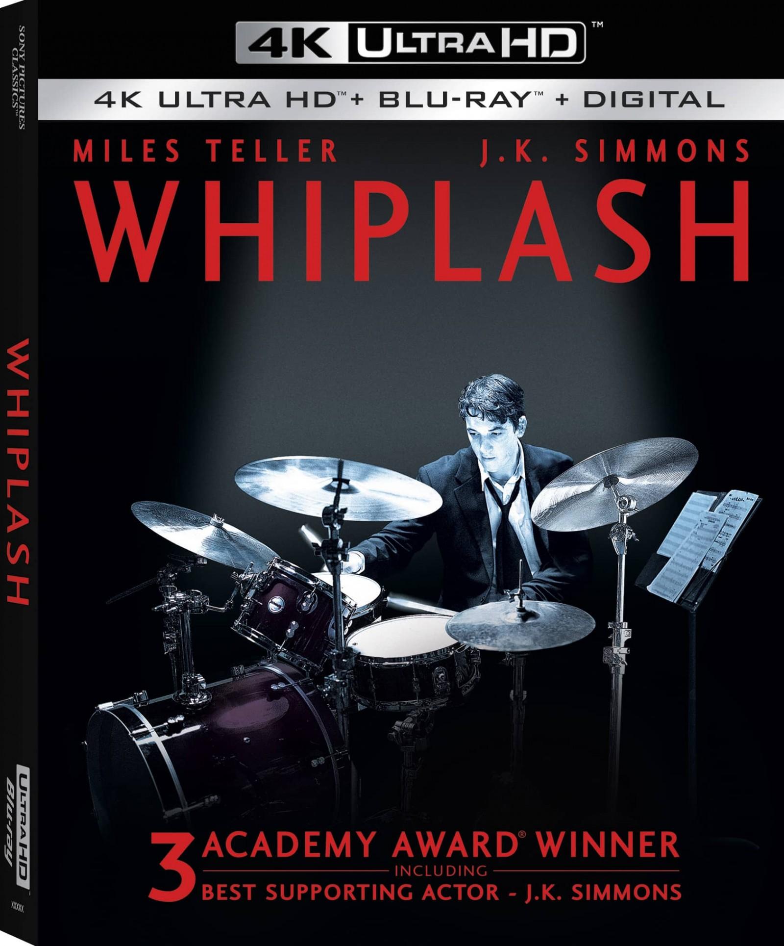 Whiplash 4K Cover Box Art