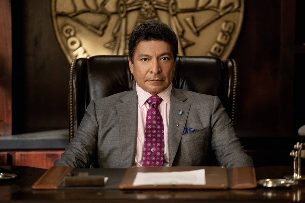 "Gil Birmingham as Thomas Rainwater. Episode 4 of Yellowstone- ""Going Back to Cali"" premieres July 12 at 9 P.M. ET/PT on Paramount Network."