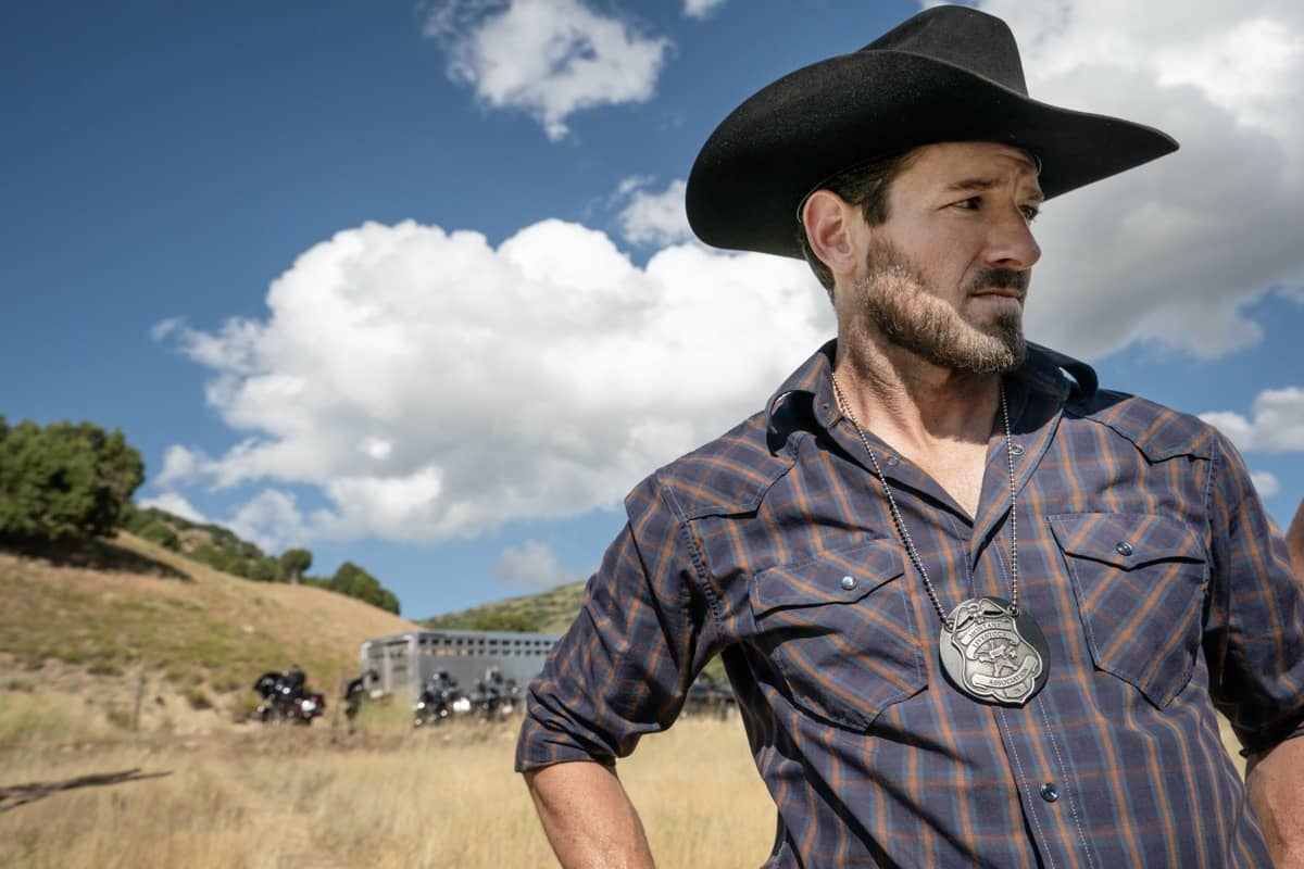 "Ian Bohen as Ryan. Episode 4 of Yellowstone- ""Going Back to Cali"" premieres July 12 at 9 P.M. ET/PT on Paramount Network."