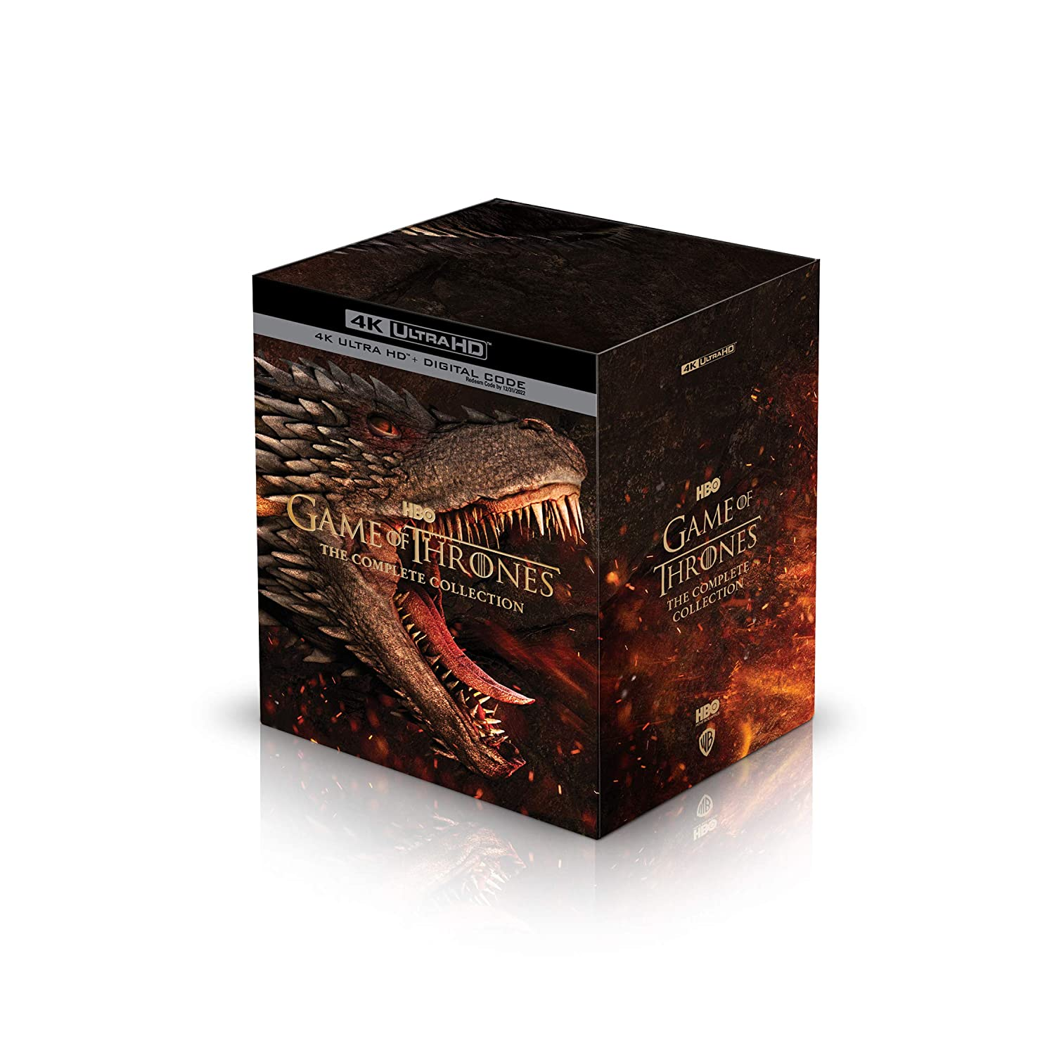 Game Of Thrones Series 4K 3D Box Cover