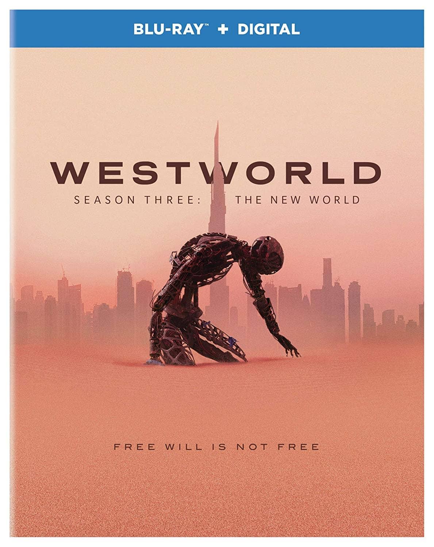 Westworld Season 3 Blu-ray Cover