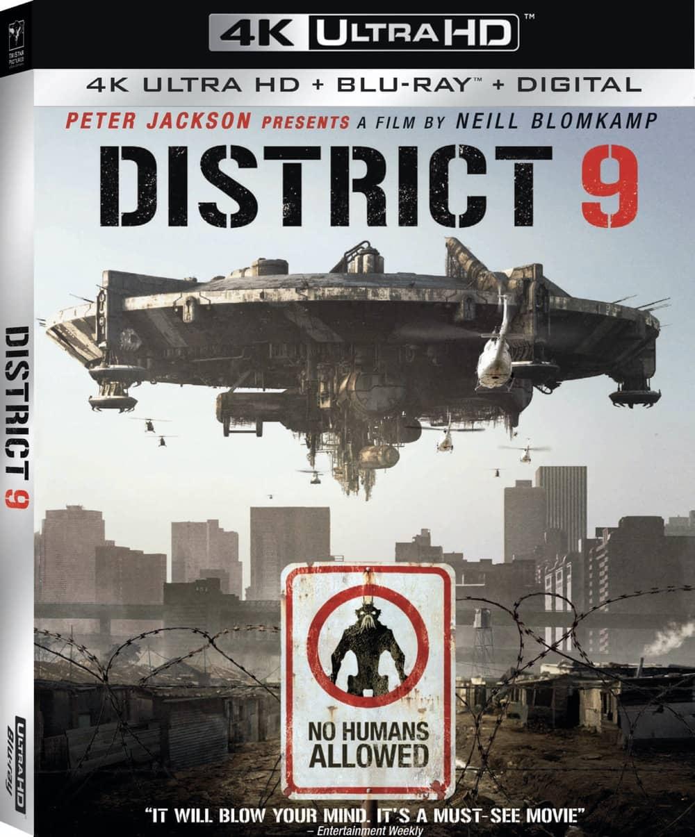 District 9 4K Cover Artwork