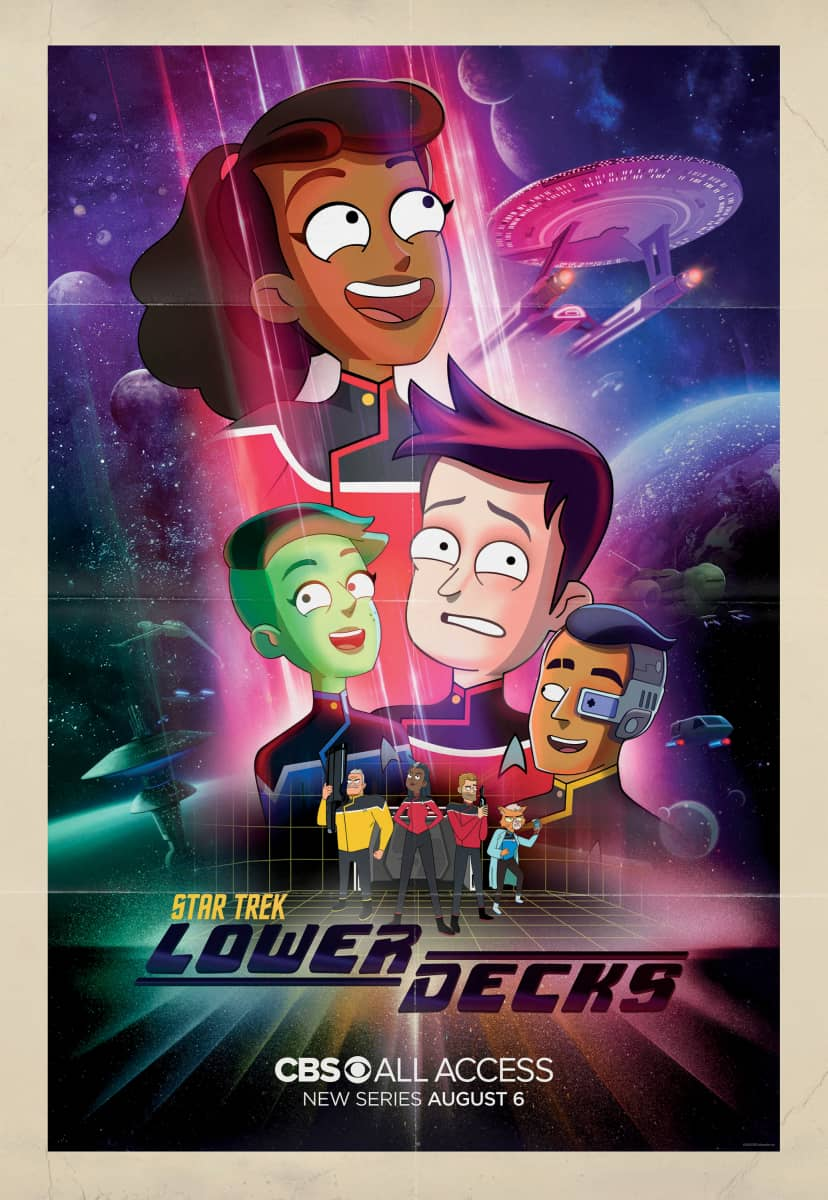 Star Trek Lower Decks Keyart Poster