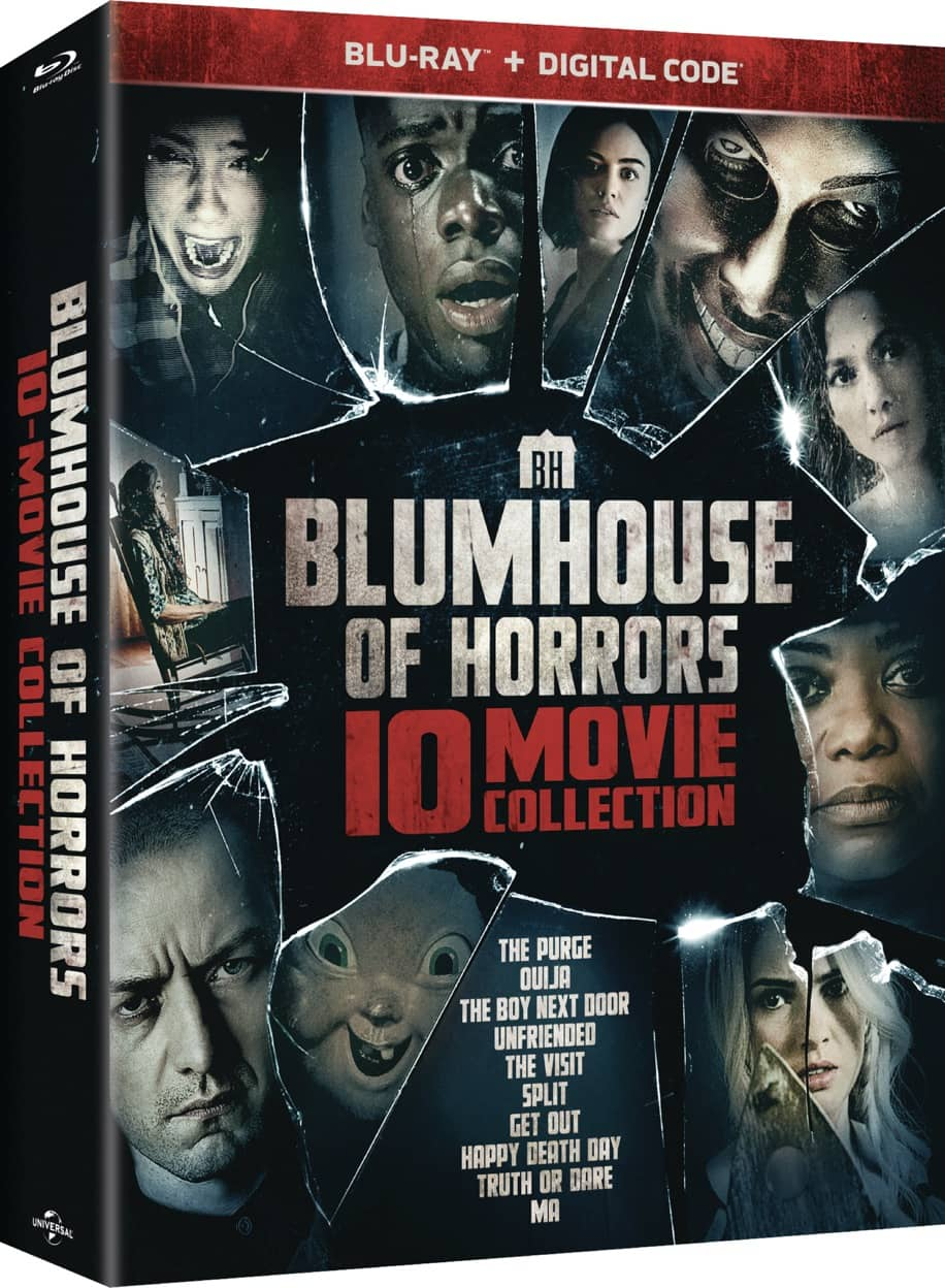 BD Blumhouse10MovieCollection Slipcase 3D