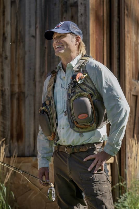 "Josh Holloway as Roarke Morris. Episode 5 of Yellowstone - ""Cowboys and Dreamers"" Premieres July 19th at 9 P.M. ET/PT on Paramount Network."