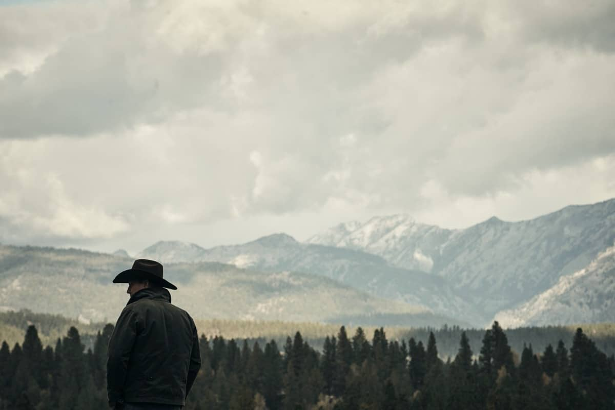 "Kevin Costner as John Dutton. Episode 5 of Yellowstone - ""Cowboys and Dreamers"" Premieres July 19th at 9 P.M. ET/PT on Paramount Network."