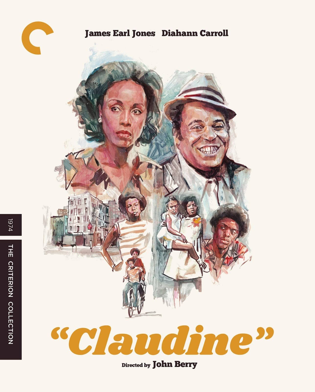 Claudine Criterion Collection Bluray Cover