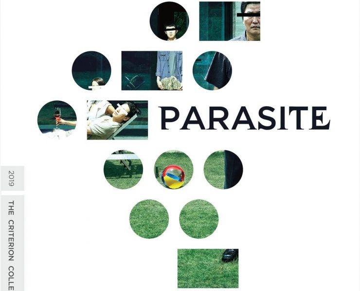 Parasite Criterion Collection Bluray Cover