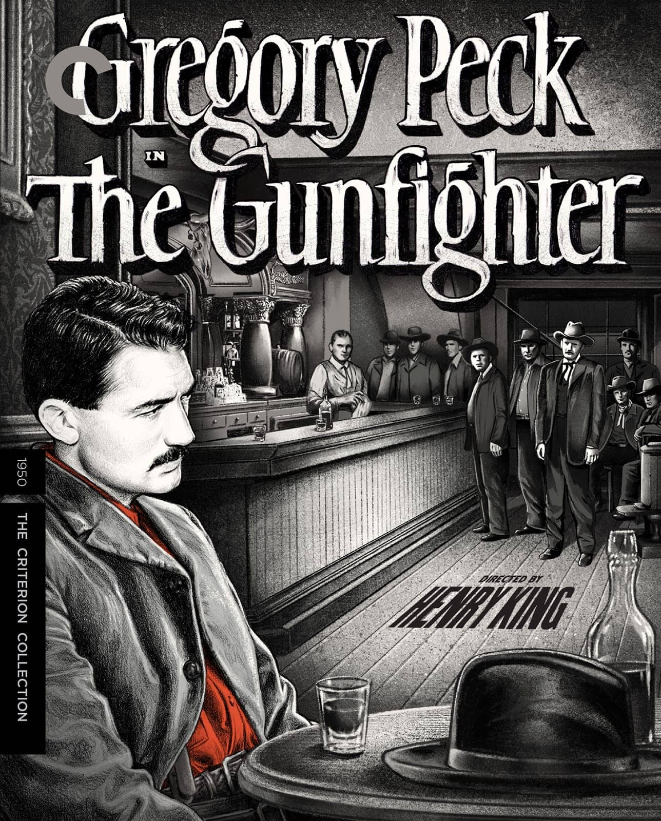 The Gunfighter Criterion Collection Bluray Cover
