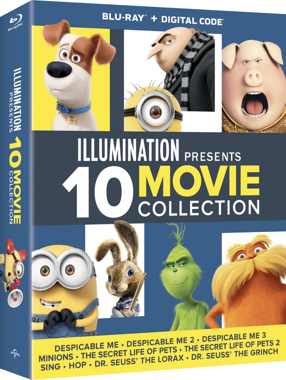 DomBD Illumination10MovieCollection Slipcase 3D