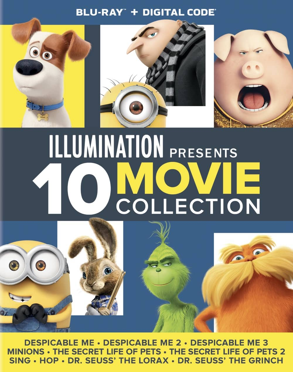 DomBD Illumination10MovieCollection Slipcase 2D