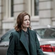 THE CAPTURE -- Episode 103 --Pictured: Holliday Grainger as DI Rachel Carey -- (Photo by: BBC/Heyday Films/Nick Wall)