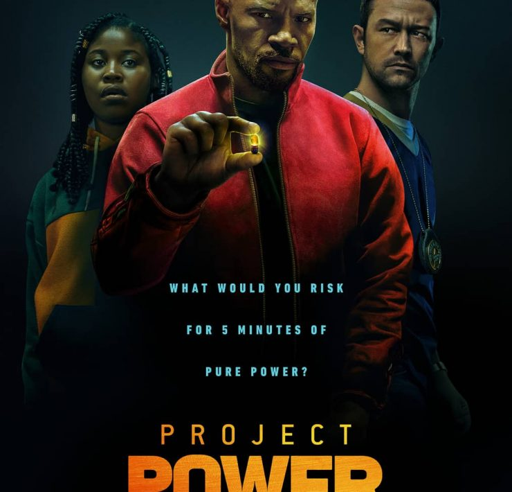 Project Power Movie Poster Jamie Foxx