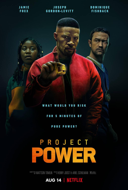 Project Power Movie Poster Jamie Foxx