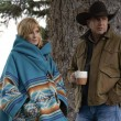 """(L-R) Kelly Reilly as Beth Dutton and Kevin Costner as John Dutton. Episode 6 of Yellowstone - """"All for Nothing"""" Premieres July 26th at 9 P.M. ET/PT on Paramount Network."""