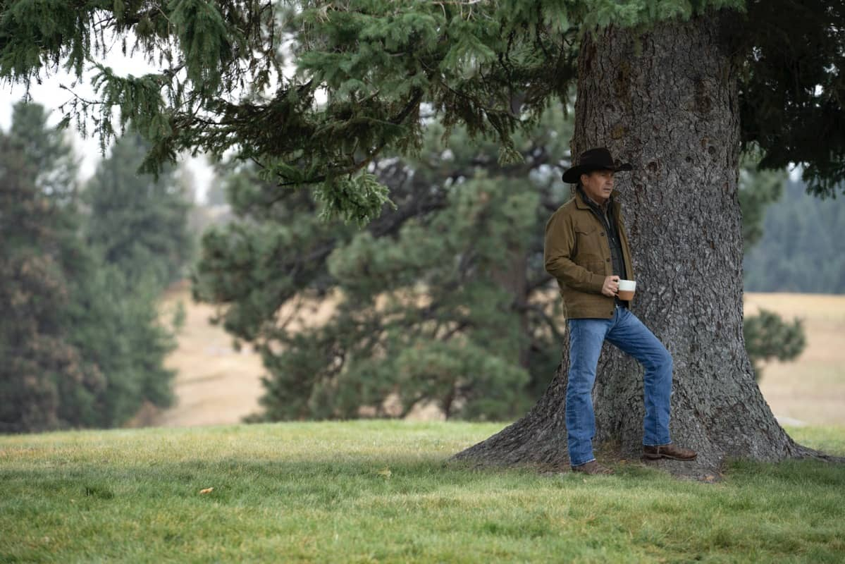 "Kevin Costner as John Dutton. Episode 6 of Yellowstone - ""All for Nothing"" Premieres July 26th at 9 P.M. ET/PT on Paramount Network."