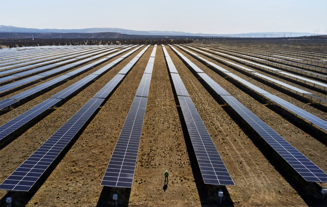 Apple commits 100 percent carbon neutrality for supply chain and products by 2030 solar farm 07212020