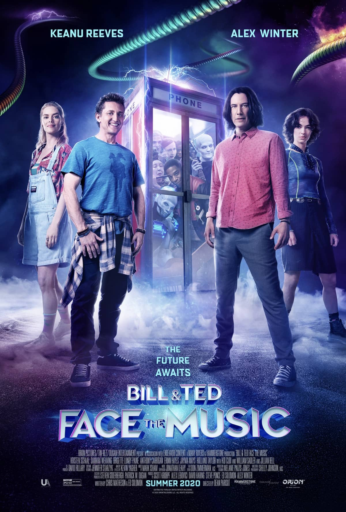 BILL AND TED FACE THE MUSIC Official Poster
