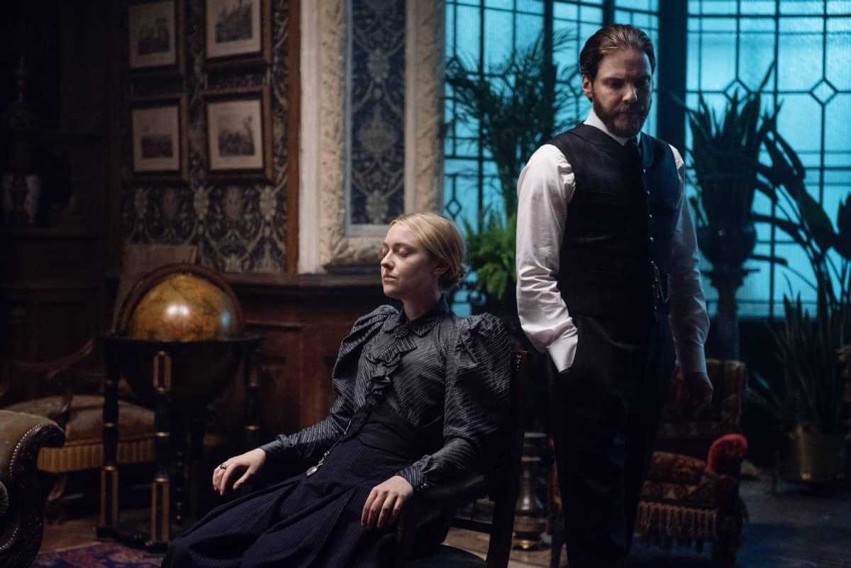 The Alienist Angel Of Darkness Daniel Brühl, Dakota Fanning Photograph by Kata Vermes / TNT
