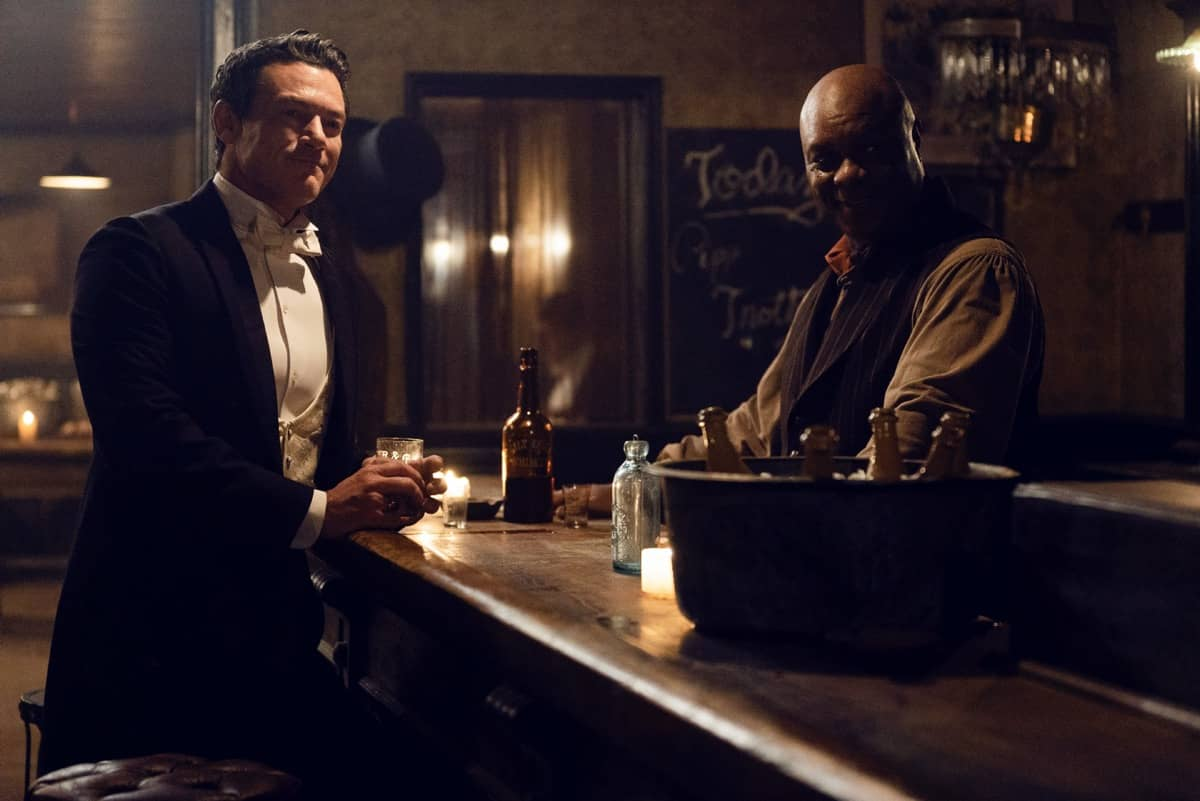 The Alienist Angel Of Darkness Luke Evans, Robert Ray Wisdom Photograph by Nelly Kiss / TNT