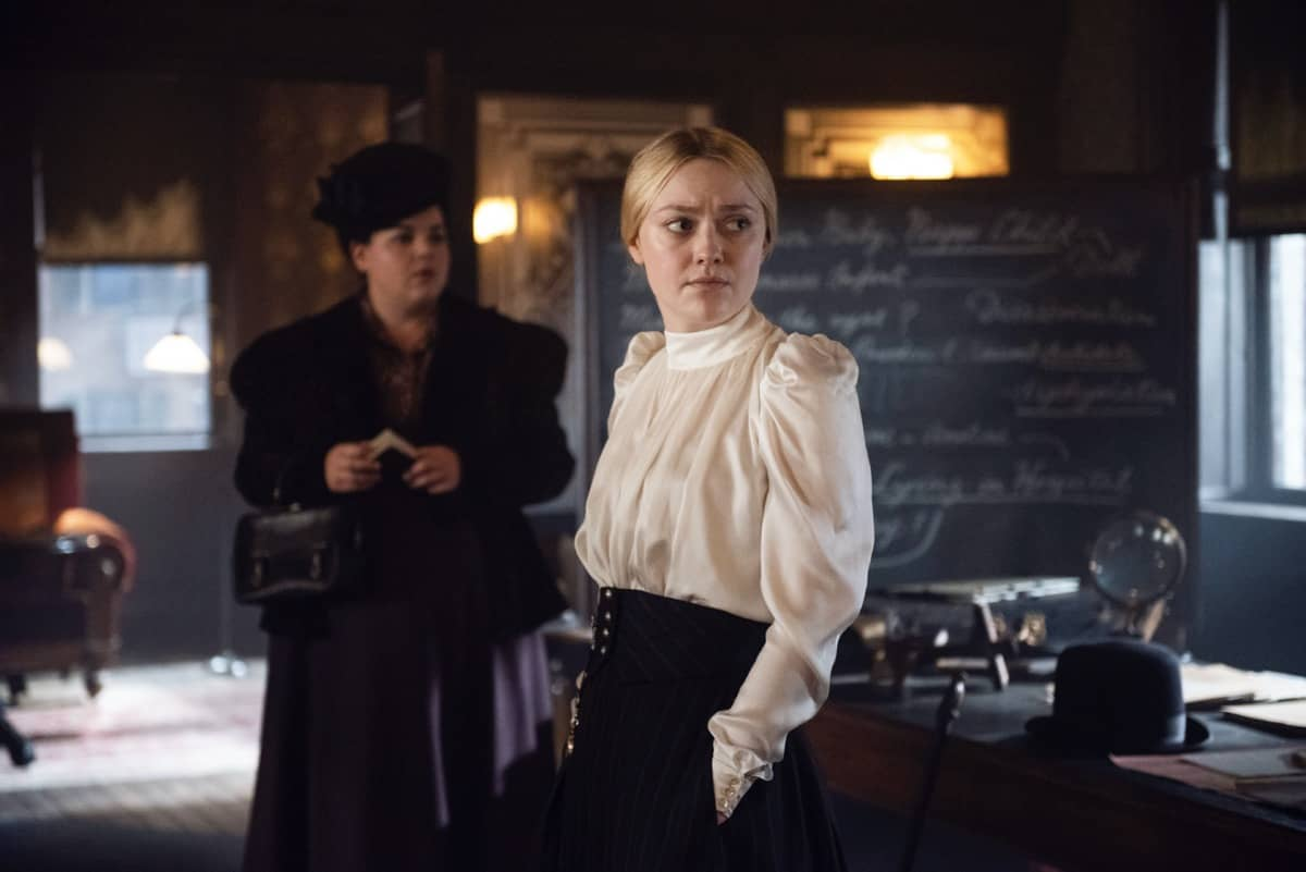 The Alienist Angel Of Darkness Melanie Field, Dakota Fanning Photograph by Kata Vermes / TNT