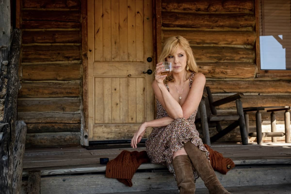 "Kelly Reilly as Beth Dutton. Episode 7 of Yellowstone - ""The Beating"" Premieres August 2nd at 9 P.M. ET/PT on Paramount Network."