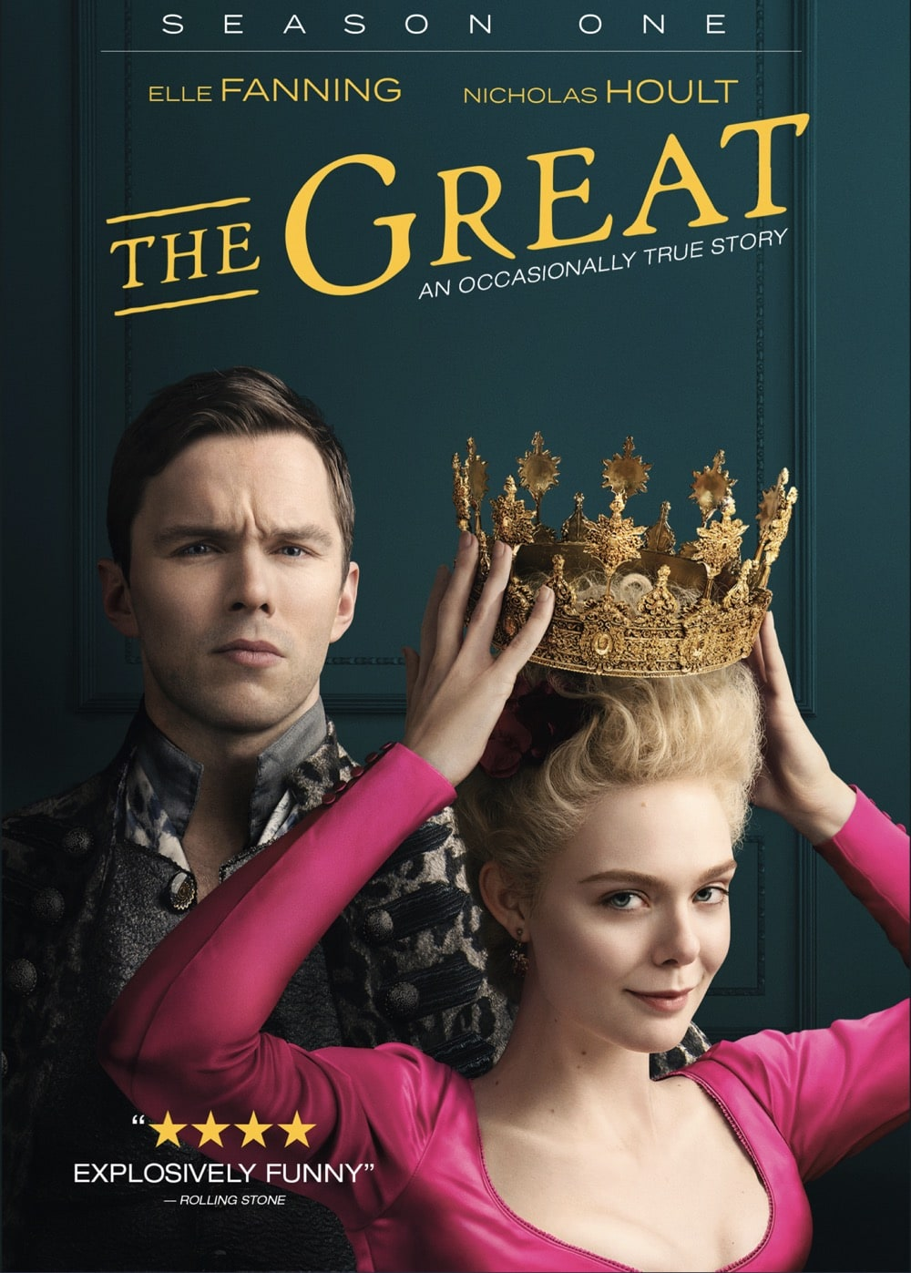 The Great Season 1 DVD Cover