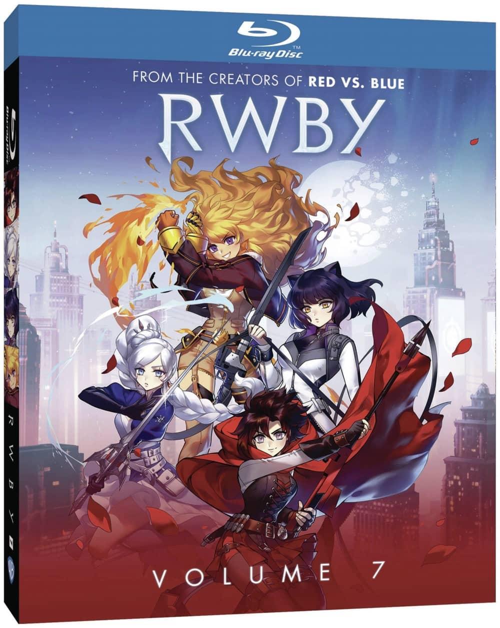 RWBY Volume 7 Bluray Cover