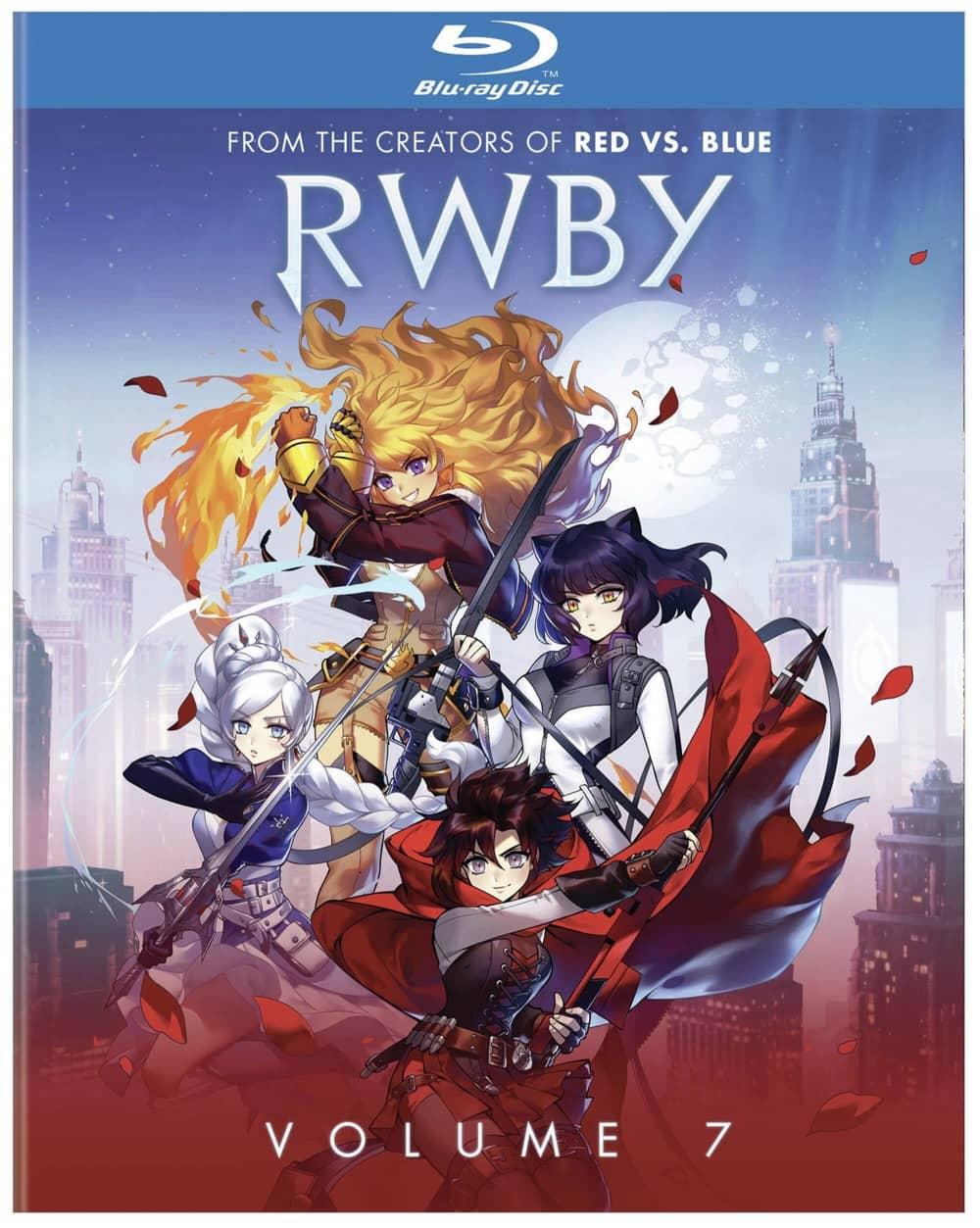 RWBY Volume 7 Bluray