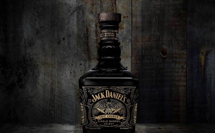 Eric Church Jack Daniels Bottle